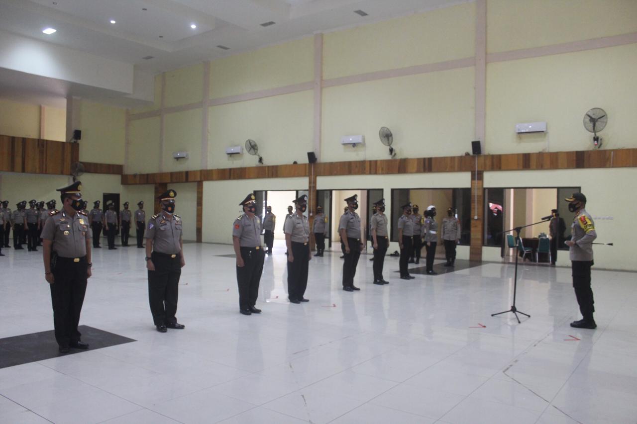 50 Personil Polres Soppeng Naik Pangkat, Ini Tingkatannya