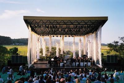 Santa Fe Jazz Ensamble en Punta del Este en 2002