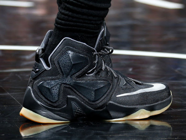 Closer Look at James Black Lion LeBron 13 PE