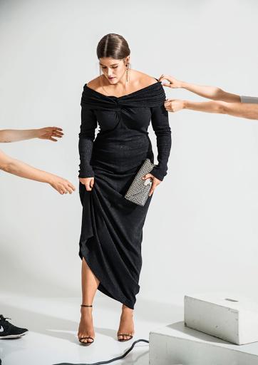 Burda dergisi Aralık 2016 büyük beden elbise