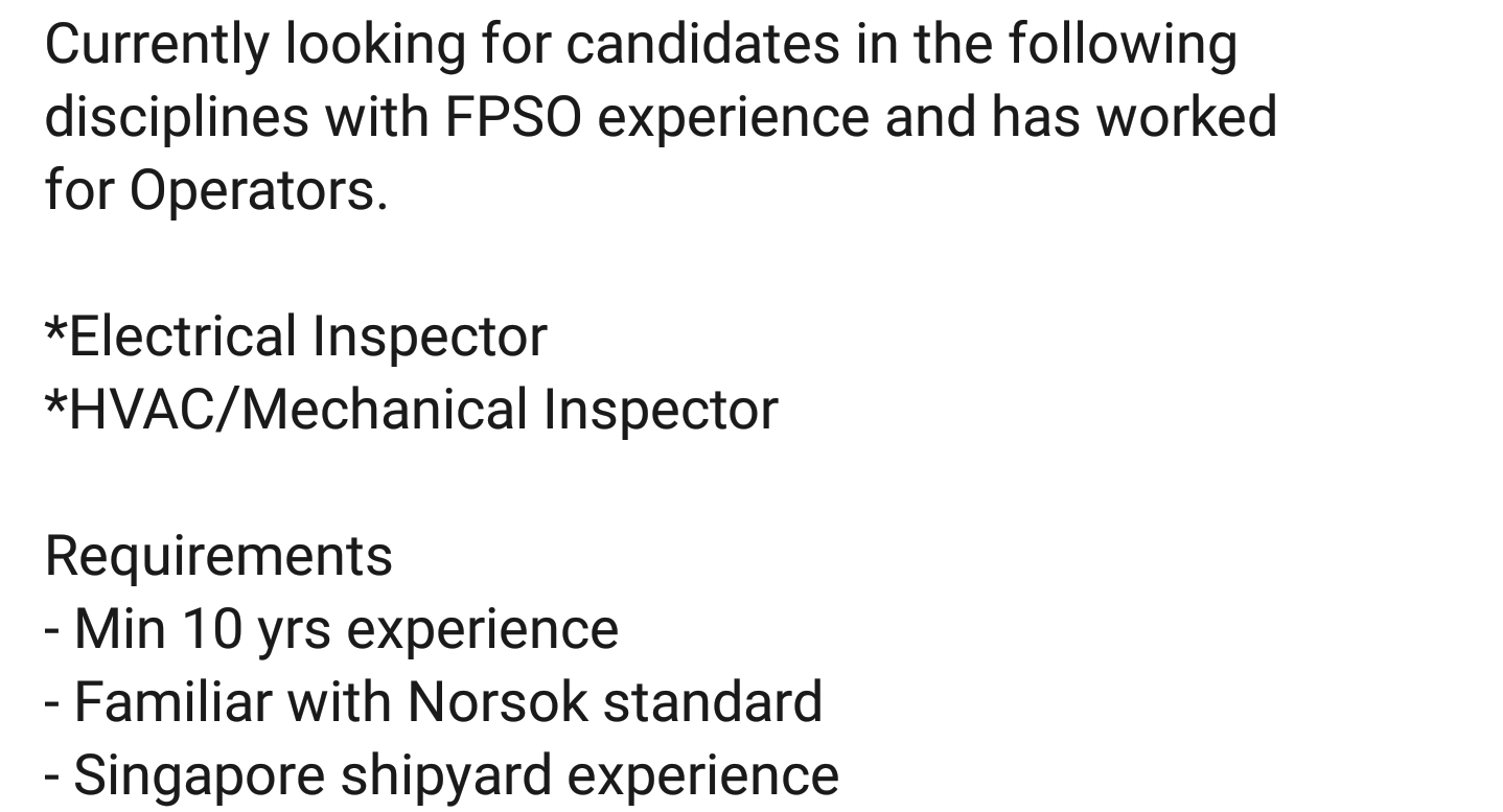 Fpso Jobs