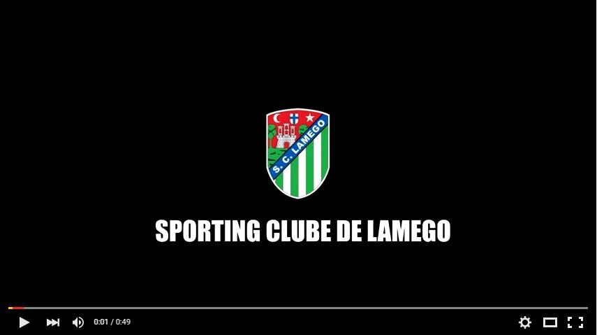 Vídeo - Sporting Clube Lamego campeão distrital zona norte 15/16