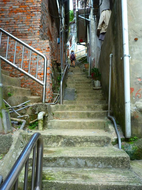 Taipei. Si Shou shan, en plein coeur de Taipei. Accès par un chemin bien plus sauvage. - P1240813.JPG