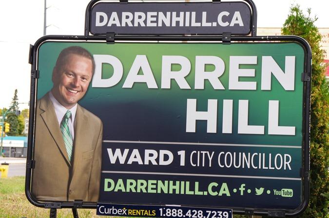Darren Hill in Saskatoon