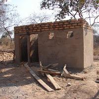 New patient bath house in progress