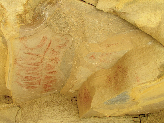 Soldier Creek pictographs
