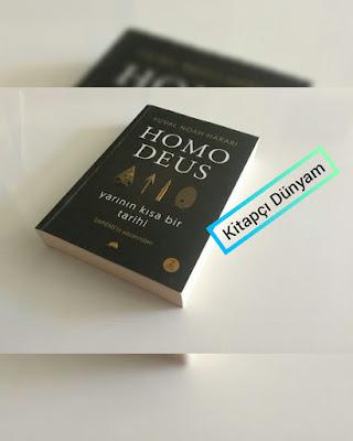 """""""Homo Deus: Yarının Kısa Bir Tarihi"""" Kitap Bilgisi"""