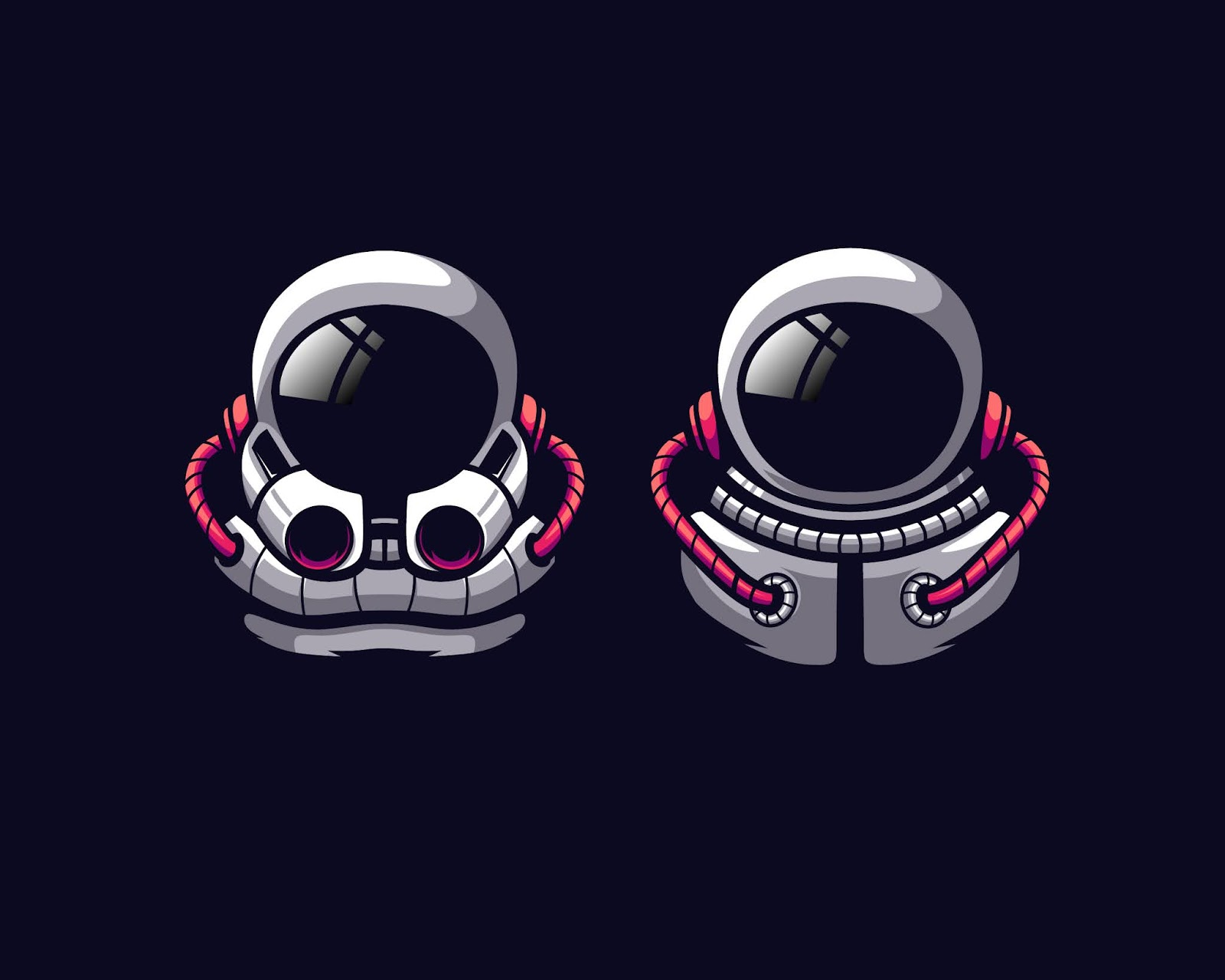 Awesome Astronaut Vector Illustration Free Download Vector CDR, AI, EPS and PNG Formats