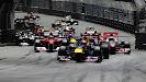 Start 2011 Monaco F1 GP