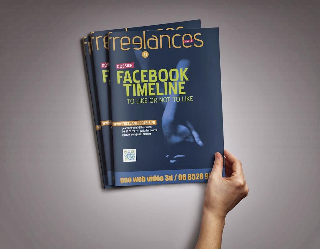 magazine Freelances WEB Facebook timeline