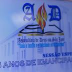 Homenagem aos 25 anos de Emancipação da AD São José na Camara dos Vereadores de São José