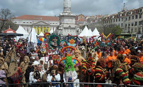 Entrudo de Lazarim marcou forte presença no Festival da Máscara Ibérica