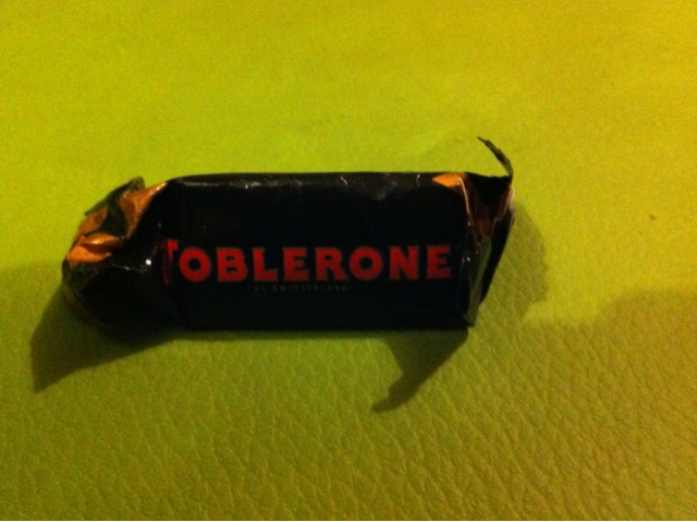 A Review A Day Todays Review Mini Dark Chocolate Toblerone