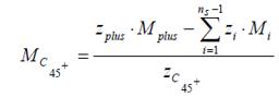 caracterización de la fracción pesada Mc45+