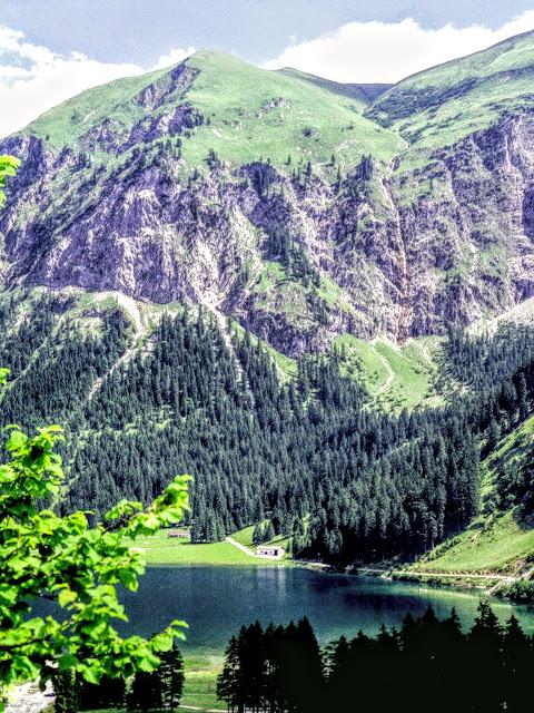 Tannheim Tirol - Vilsalpsee Wasserfall
