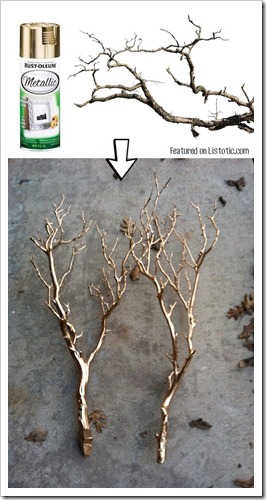 10.-Spray-paint-branches-for-a-pretty-centerpiece-or-home-decor-idea.-29-Cool-Spray-Paint-Ideas-That-Will-Save-You-A-Ton-Of-Money