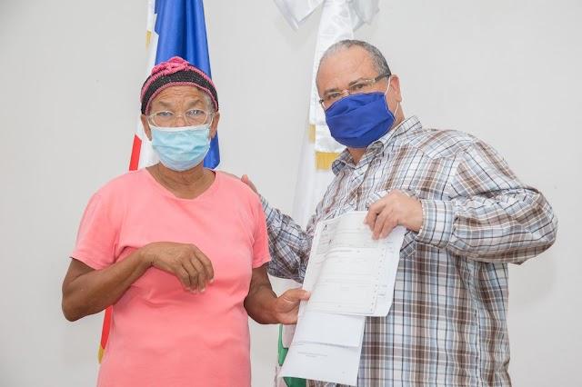 CAC paga más de RD$9.9 millones a parceleros de Proyecto Angostura
