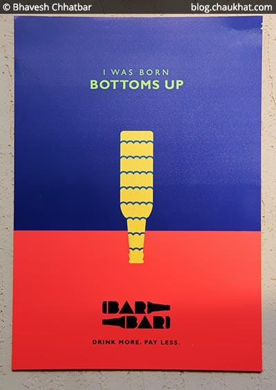 Poster, BarBar, Phoenix Market City, Viman Nagar, Pune