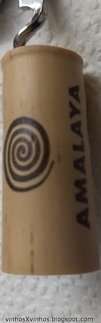 Rolha sintética do vinho Amalaya