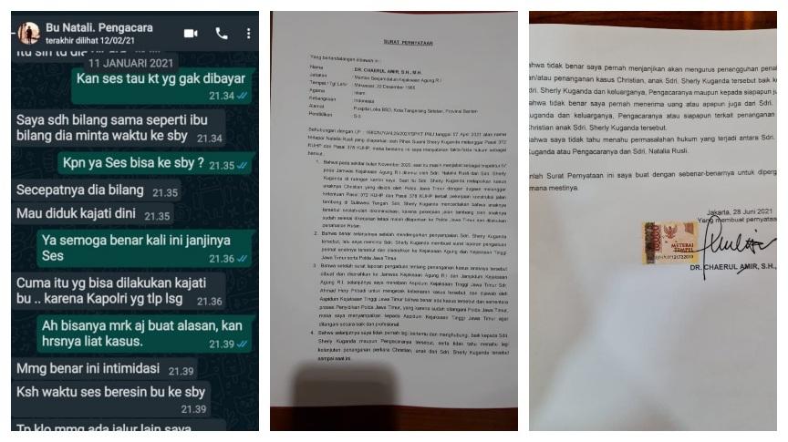Penyidik Kemneg Polda Metro Tumpul, Kapolri Diminta Turun Tangan Berantas Mafia Hukum yang Melibatkan Oknum Pengacara Natalia Rusli