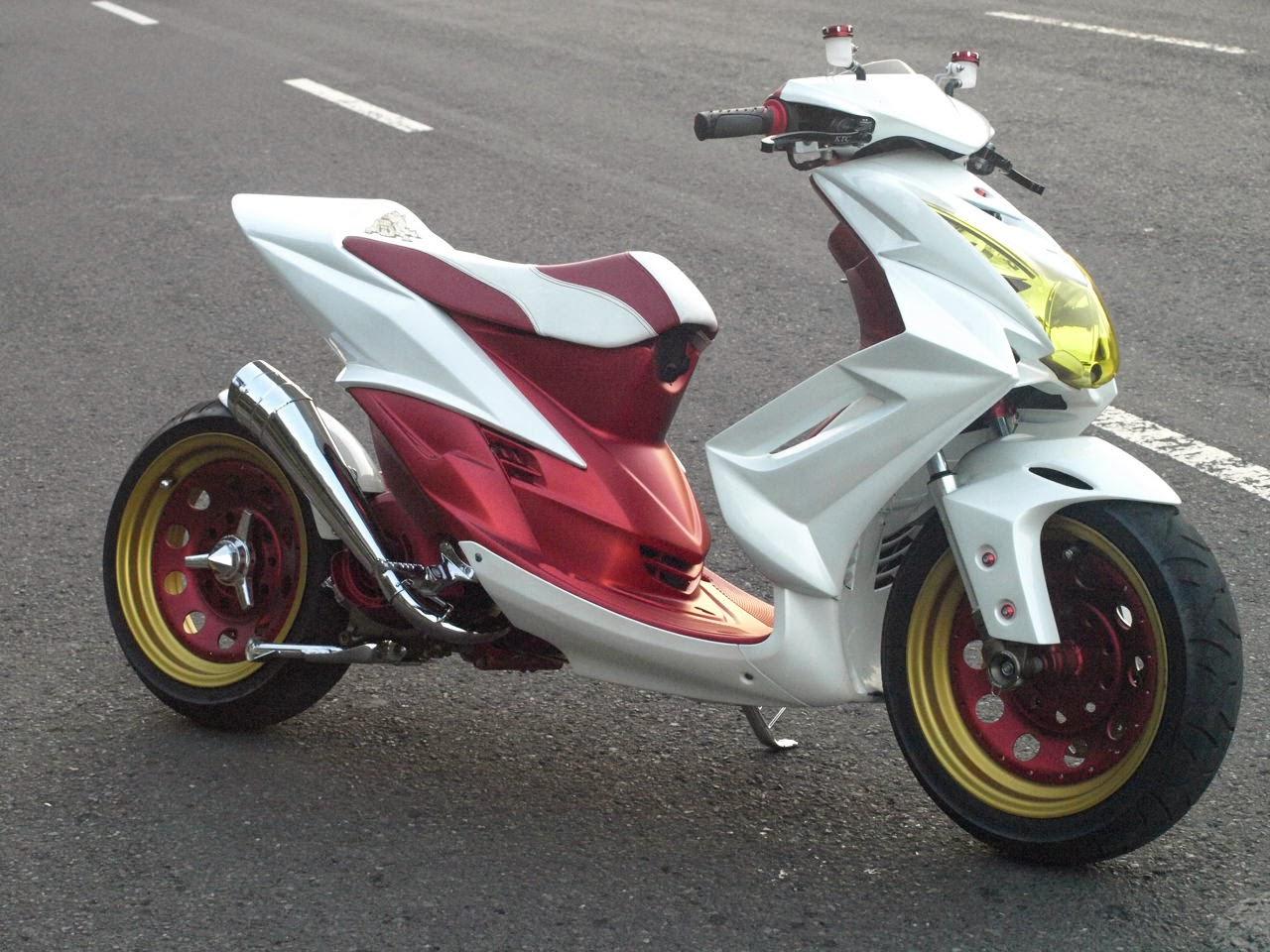 Modifikasi Motor Mio Sporty