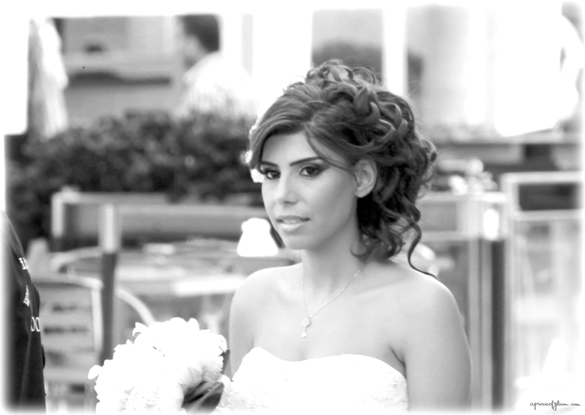 A Piece of Glam, Street Photography, Beirut, Lebanese bride