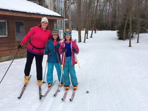 Saturday morning skiers!