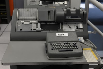 IBM 026 keypunch. Photo by Paul Sullivan (CC BY-ND 2.0).