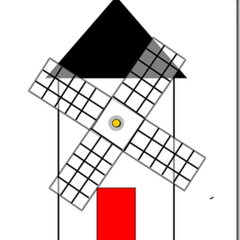 Molino de viento, proyecto Don Quijote
