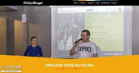 Strona WWW Fundacji Ruszaj w Drogę