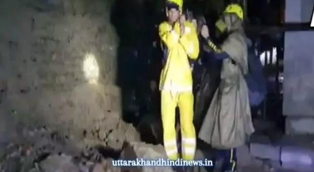 Uttarakhand Rain News: केदारनाथ से वापसी के दौरान भारी बारिश में फंसे 22 यात्रियों को SDRF ने बचाया