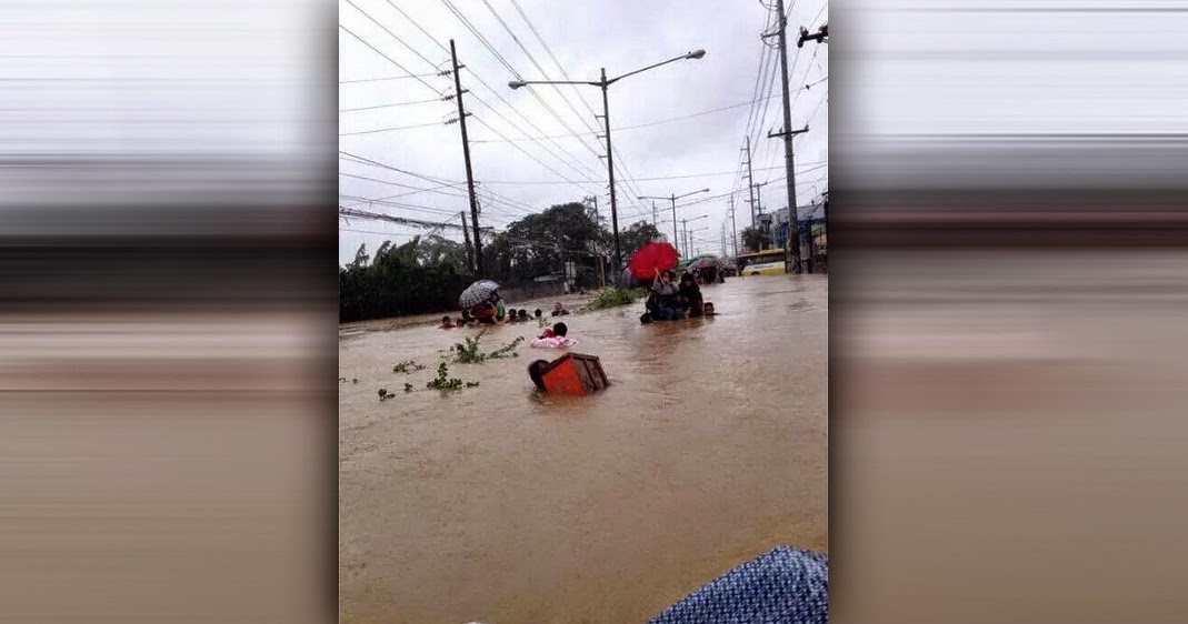 Mario Causes Flooding in Metro Manila with Pictures 19-09-2014-16