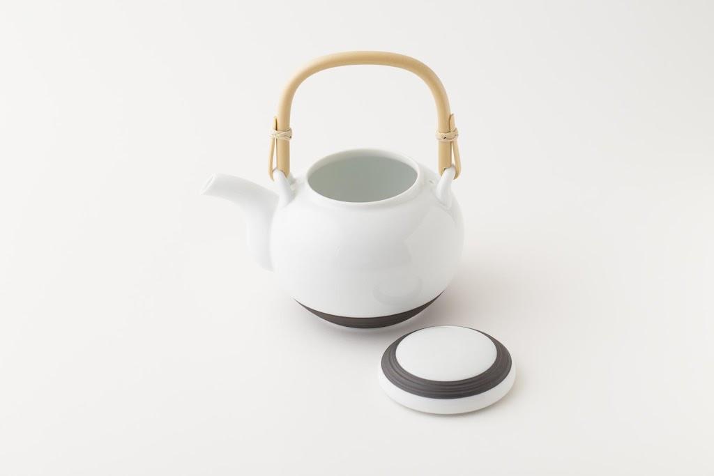 SUMINOWA Cake-ink-dyed Dobin Porcelain Teapot