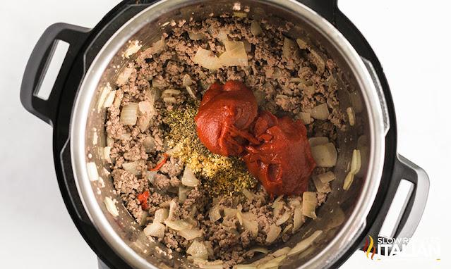 lasagna soup recipe in instant pot