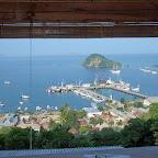 View from Bayview Gardens Hotel @ Labuanbajo, Flores