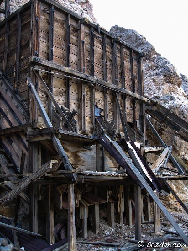 The mines main orebin.