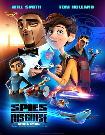 Spies in Disguise 2019 BluRay Sub Indo