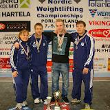 23-vuotiaiden ja yleisen sarjan PM-kilpailut 2011, Pori