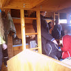 Landmannalaugar group accommodation, preparing for hike. TH