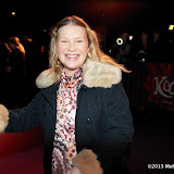 WWW.ENTSIMAGES.COM - Joanna Page  arriving  at  Cirque Du Soleil: Kooza VIP Royal Albert Hall London January 8th 2013                                                       Photo Mobis Photos/OIC 0203 174 1069