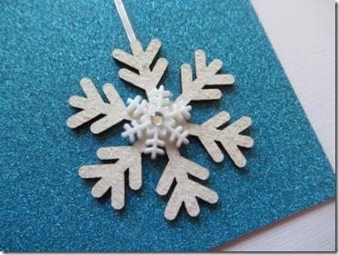 Simple Snow Cool Card
