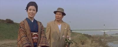 『男はつらいよ 純情篇』の渥美清と若尾文子
