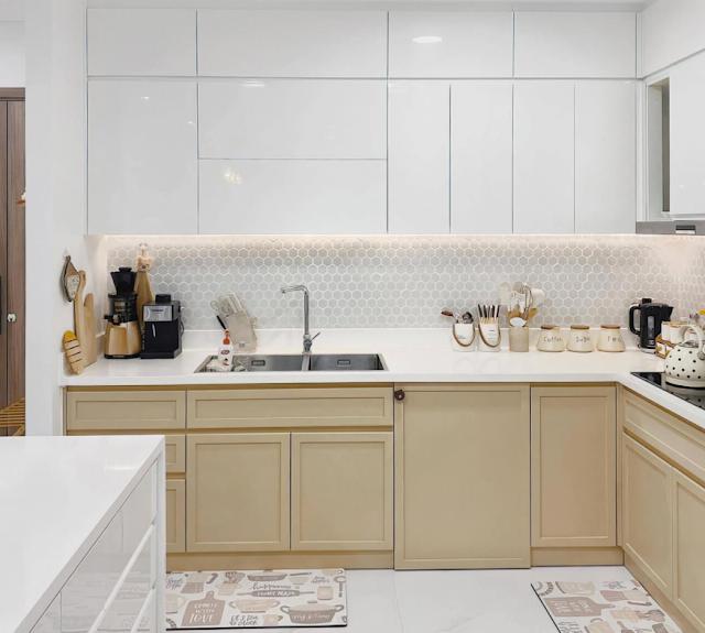 Cùng khám phá căn hộ sở hữu phong cách hiện đại, đơn giản