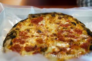 Sorrento'daki Da Franco'nun margharita pizzası