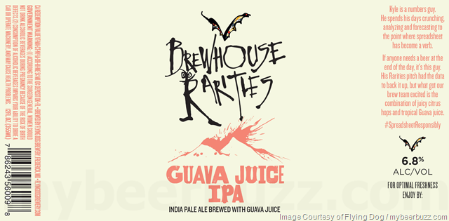 Flying Dog Guava Juice IPA Coming To Brewhouse Rarities Series