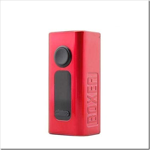 hugo vapor boxer 160w tc box mod d0a%25255B5%25255D - 【MOD】Hugo Vapor BOXER 160W TC Box Mod【CUBOIDクラスのデュアルバッテリーMOD!】