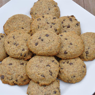 Stevia Sweetened Chocolate Chip Cookies.