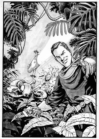 A 2012 Dan Dare commission by Colin Wilson