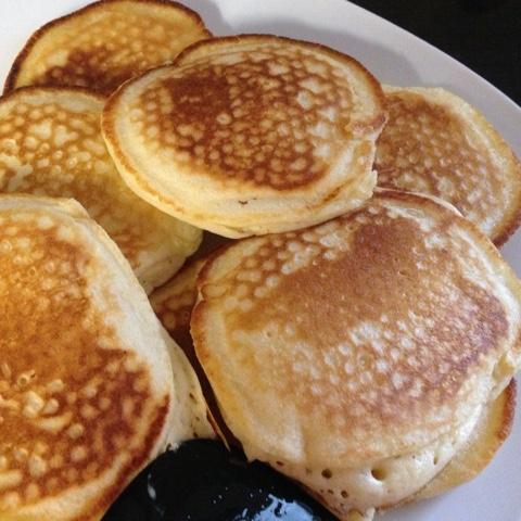 Pancakes zum Geburtstagsfrühstück