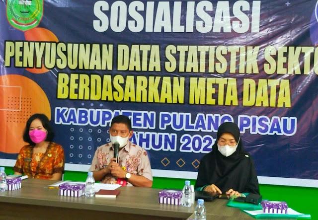 Kominfo Pulpis Sosialisasikan Penyusunan Data Statistik Sektoral Berbasis Data